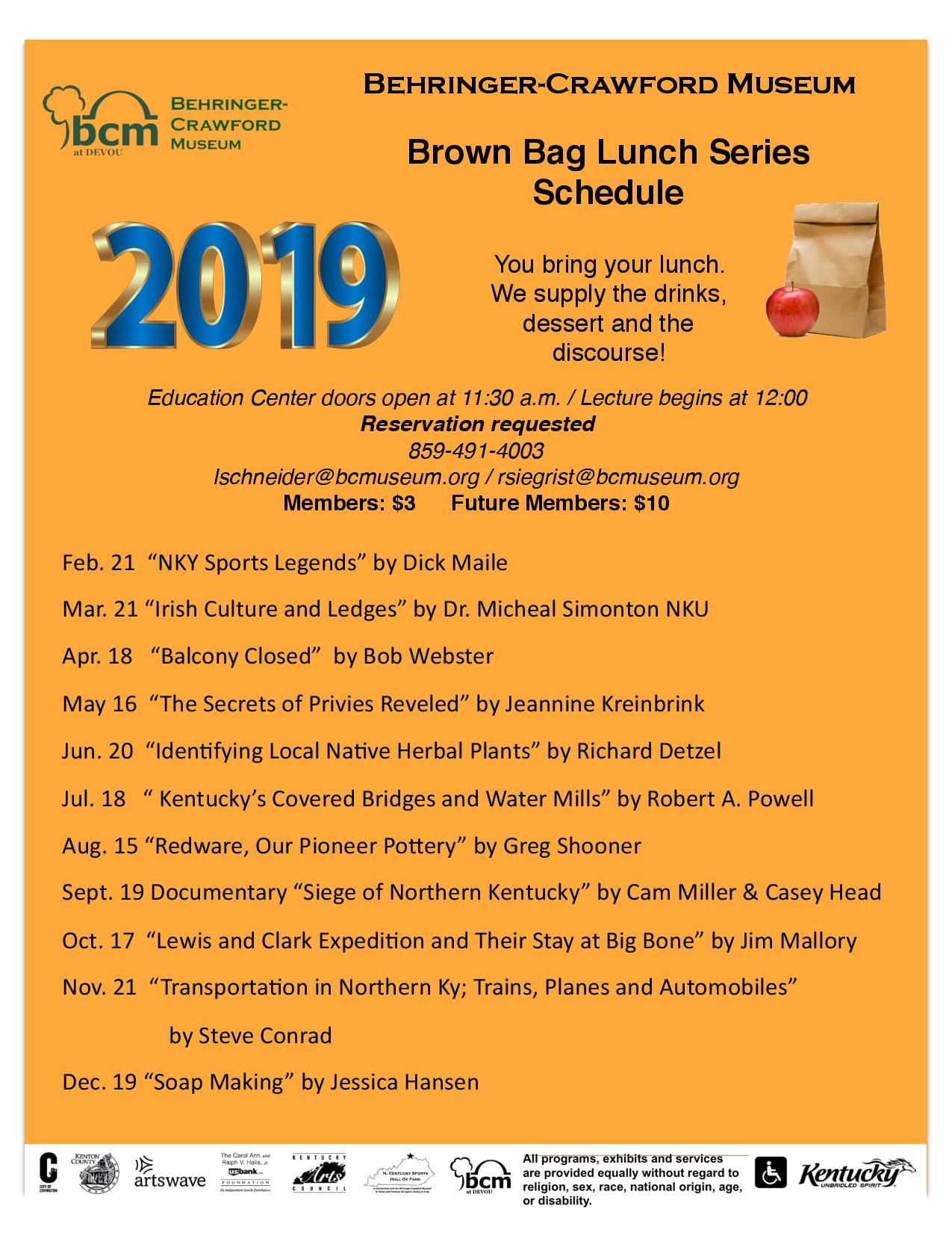 Brown Bag 2019 Schedule copy page 001