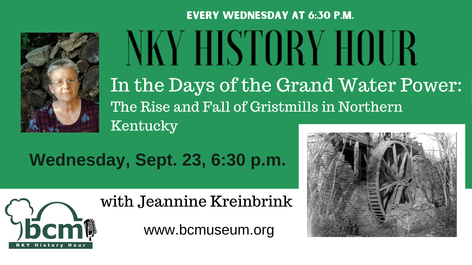 NKY History Hour Gristmills Final 3