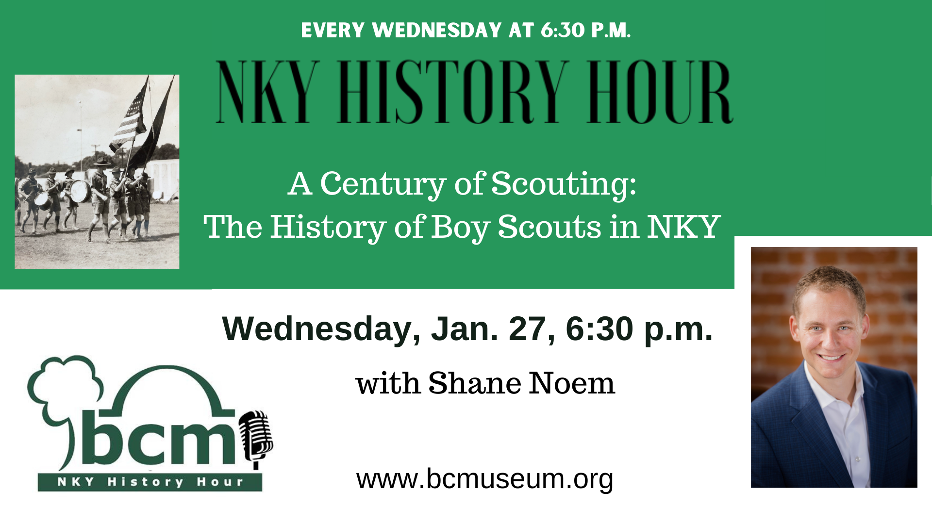 NKY History Hour Boy Scouts